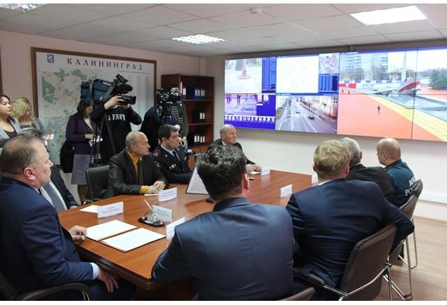 """Поставка видеостены для комплекса """"Безопасный город"""" г. Калининрад."""