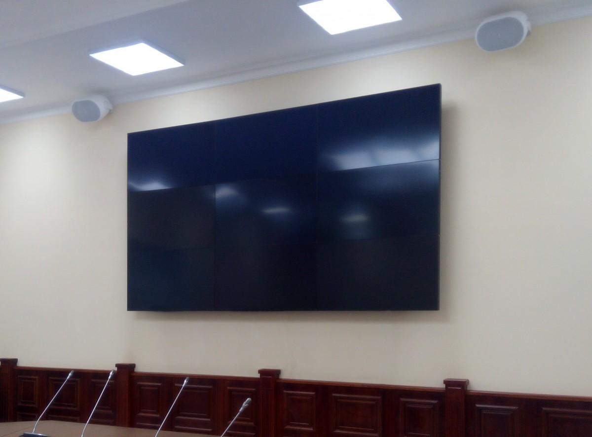 Поставка видеостены для РМАПО г. Москва